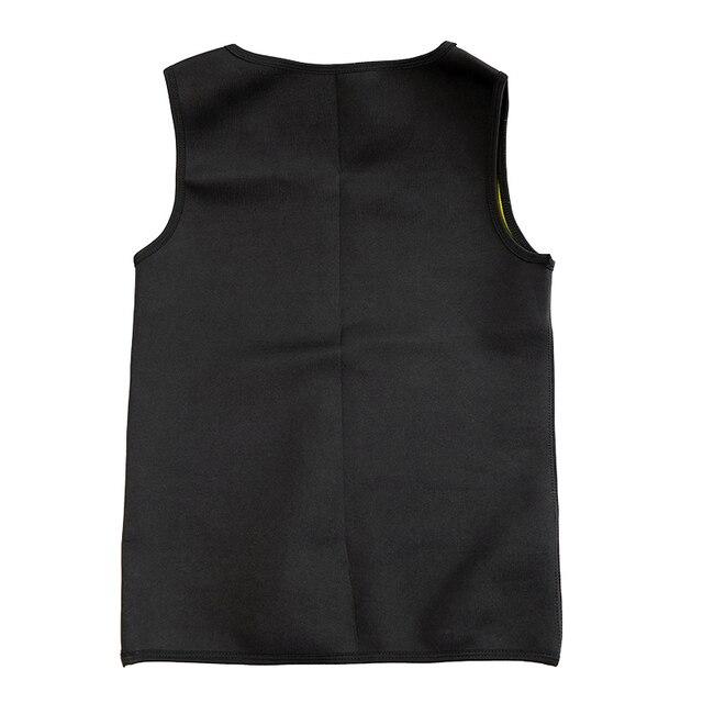 Slimming Belt Belly Men Slimming Vest Body Shaper Neoprene Aben Burning Shapewear Waist Sweat Corset Weight Dropshipping-M 3