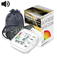 Intelligent Upper Arm Type Electronic Blood Pressure Monitor Home Automatic Sphygmomanometer недорого