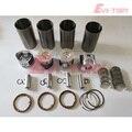 4TNV84 Ремонтный комплект двигателя для Yanmar 4TNV84 поршневое кольцо гильза цилиндра + коленчатый вал с подшипником