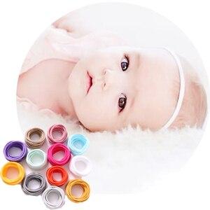 1000 szt. Baby Girl Super miękkiej nylonowej opaski dla dzieci elastyczna opaska do włosów 2CM szerokość akcesoria dla dzieci hurtownia akcesoriów do włosów