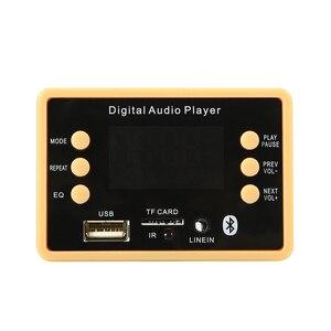 Image 4 - Bluetooth 5.0 MP3 Decoder Decoding Board Module 5 v 12v Car USB MP3 Music Player WMA WAV TF Card Slot USB FM Remote Board Module