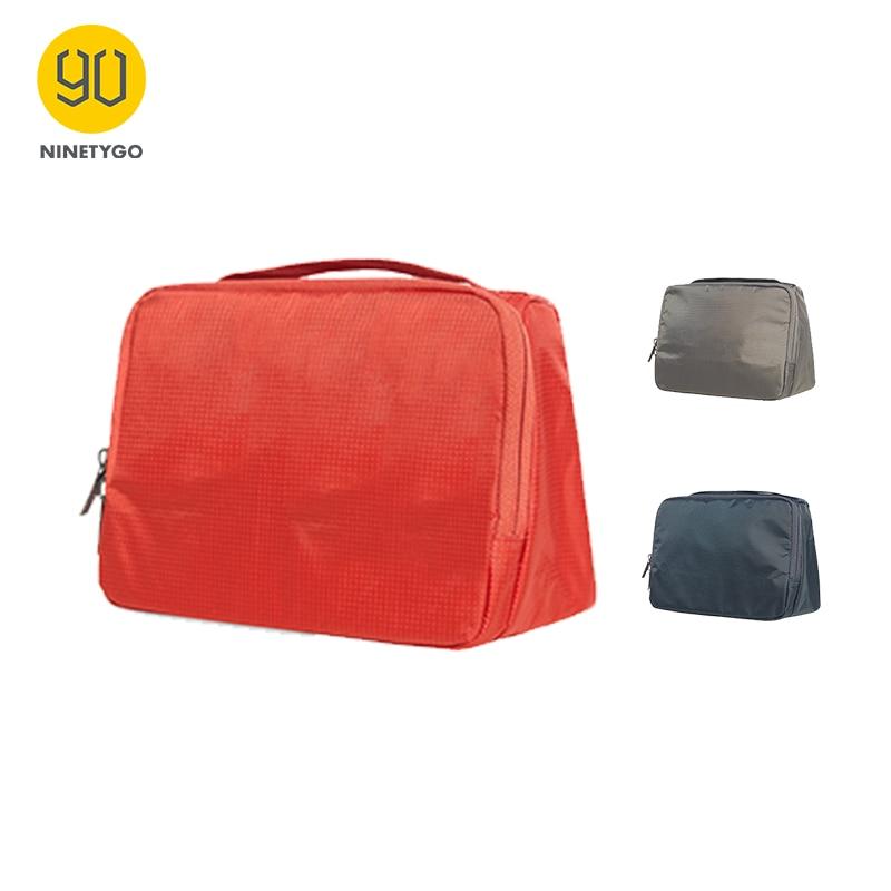 NINETYGO 90FUN Waterproof Portable Wash Bag Makeup Organizer Cosmetics Toiletry Kit Luggage Travel Trip Vacation Accessories