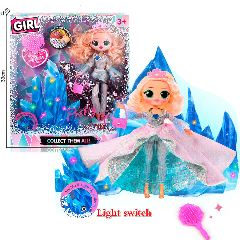 L.O.L. Surprise DIY Crystal Star Lol Surprises Omg Swag Light Toys Hobbies For Girlfriend Children Kids Christmas Gifts Dolls