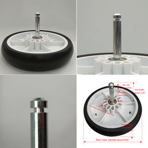 Image 3 - Stroller Wheel Tire and Accessories Yoya Plus Original Front Back Wheels for Yoyaplus 2/3/4/Max/Pro Series