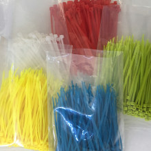 FREE SHIPPING 3x100mm Self-Locking Plastic Nylon Wire Cable Zip Ties 4inch 50pcs 6 color 18 lbs ULCertified(China)