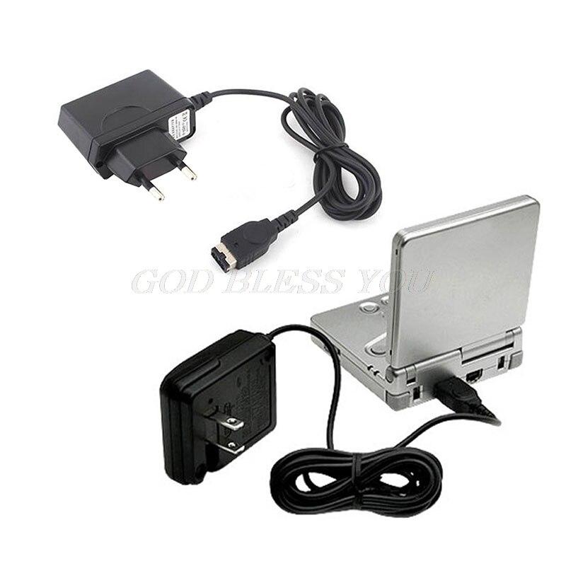 Домашнее настенное зарядное устройство адаптер переменного тока для Nintendo DS Gameboy Advance GBA SP US/EU Прямая поставка