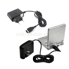 Casa carregador de parede adaptador ac para nintendo ds gameboy advance gba sp eua/ue transporte da gota