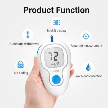 Глюкометр для измерения уровня сахара в крови Yongrow 2