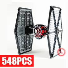New First Order TIE Fighter Special Forces Fit Legoings Star Wars Figures Model Building Block Bricks Toys Gift Kid Boys цена