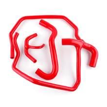 Kit tubo flessibile del liquido di raffreddamento del radiatore in Silicone per auto per Fiat five secolo 500 sports 1.1L Manicotti Acqua pressione ad alte prestazioni