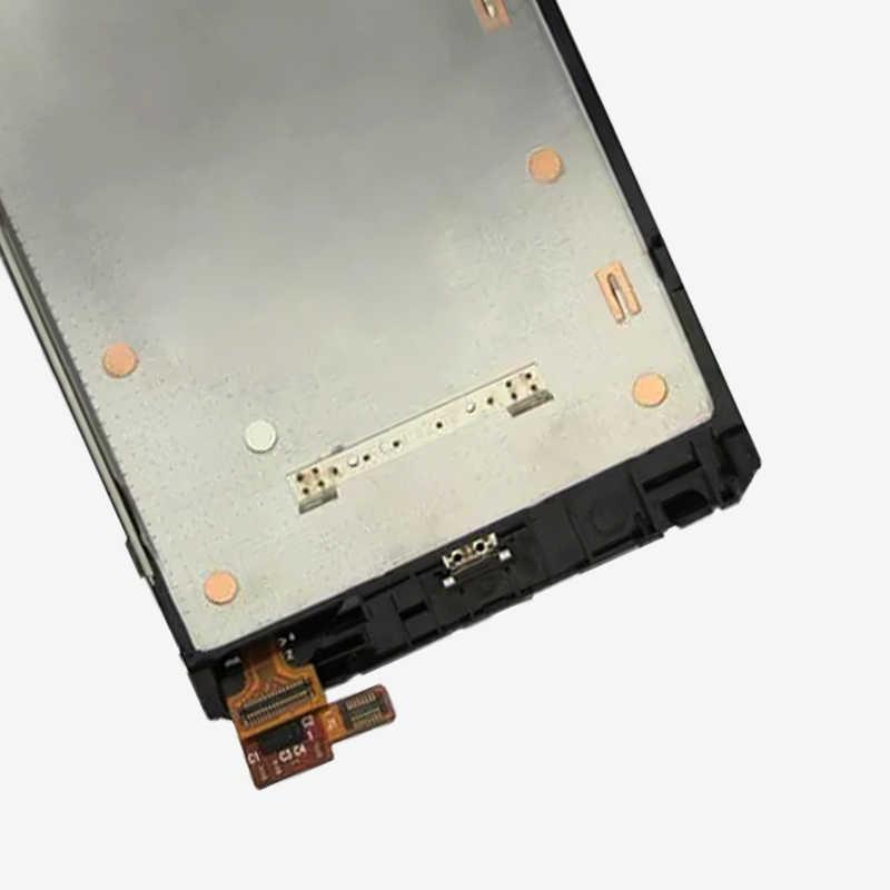 """4,5 """"LCD para Nokia Lumia 920 LCD pantalla táctil con marco para Nokia RM-822 RM-821 RM-820 digitalizador de pantalla piezas de montaje"""