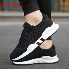 цена на Outdoor Sports Sneakers Breathable Mesh Men Running Shoes Lightweight Athletic Jogging Walking Men Sport Shoes 2019 Hot Sale