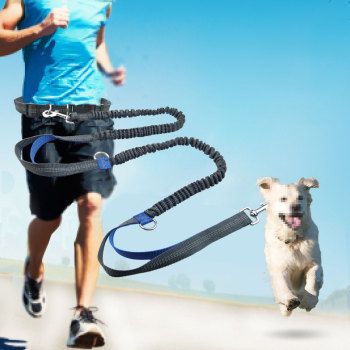Retractable Hands Free Leash  1