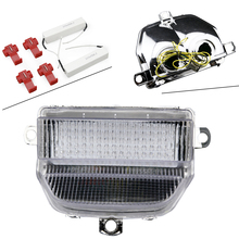 Integrated Motorcycle Clear LED Tail Light Turn Signals for Honda CBR 900RR 1993 1994 1995 1996