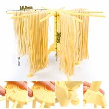Складная Сушилка для пасты держатель для спагетти сушилка пластиковая подвесная кухонная подставка для лапши