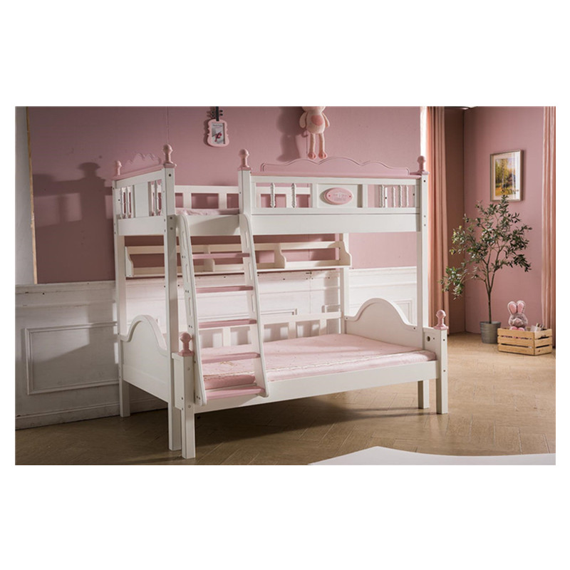 Princess Style Bedroom Wooden Bunk Bed Children Beds Aliexpress