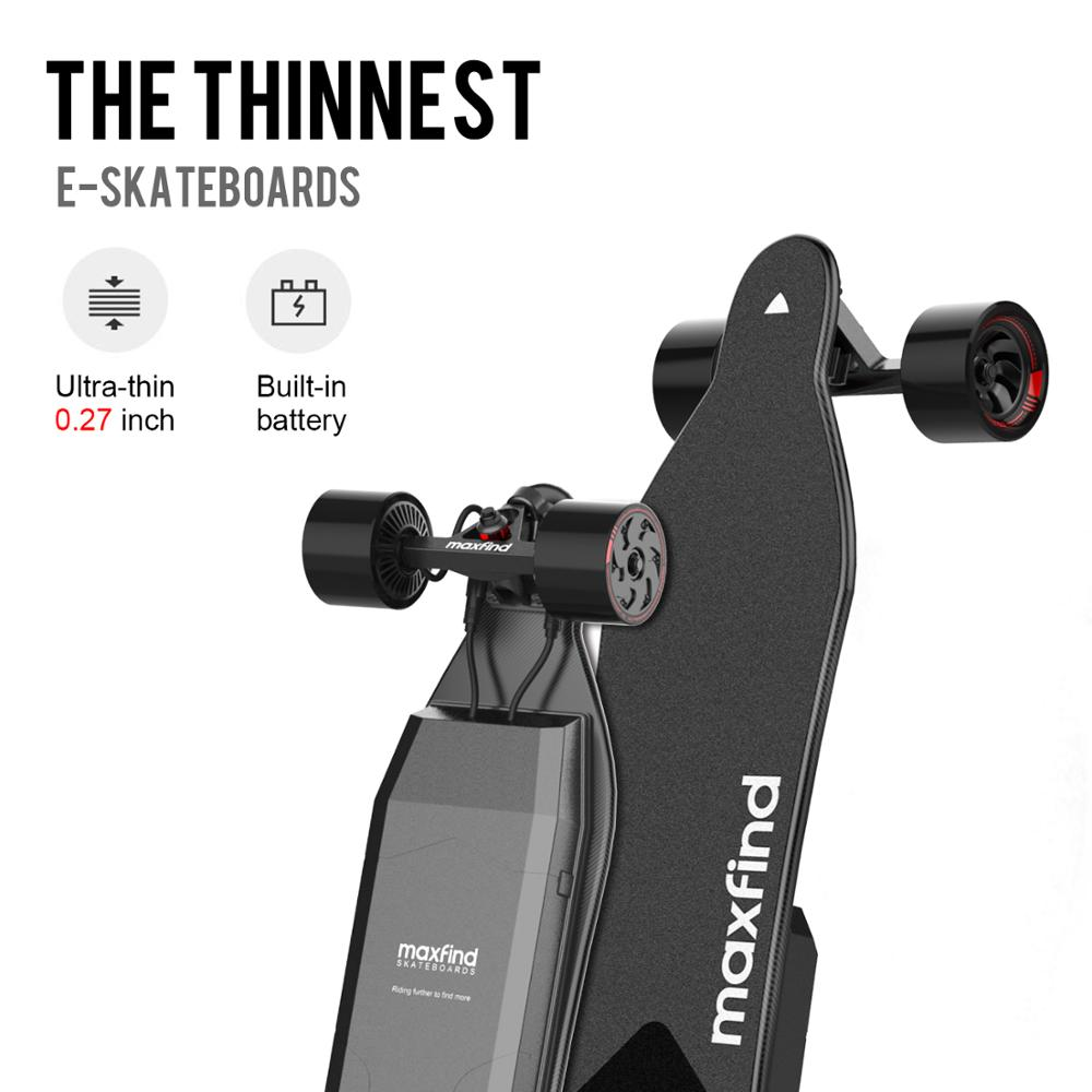 skateboard électrique longboard