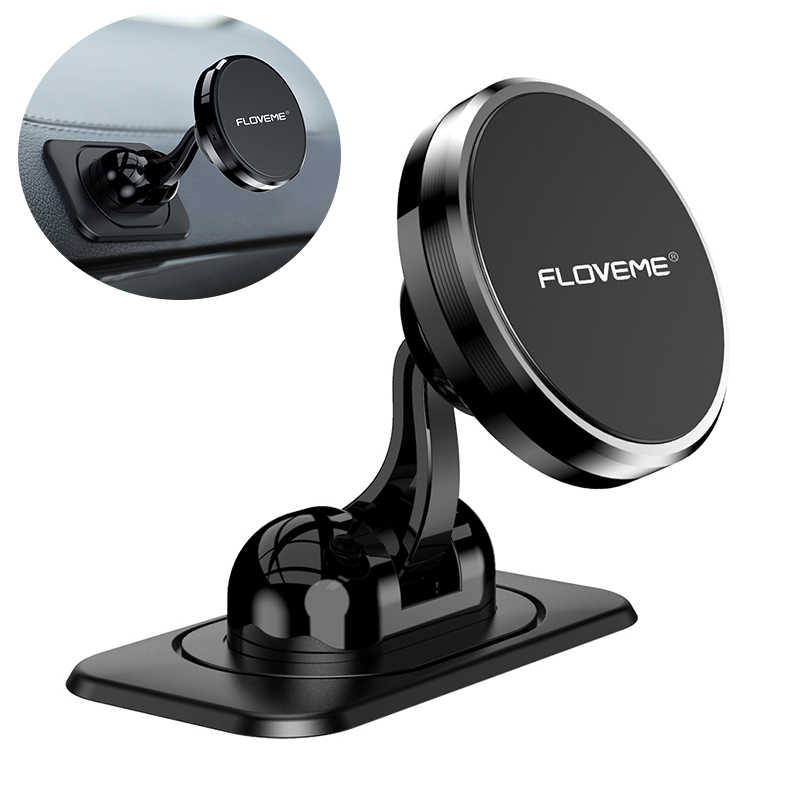 FLOVEME Universal Magnetic Phone Holder Car Stand in Car For Phone Magnet Cellular Cell Mobile Phone Support Telefoonhouder Auto