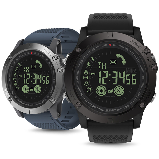 Hot Zeblaze VIBE 3 Flagship Rugged Smartwatch 33-month Standby Time 24h All-Weather Monitoring Smart Watch For IOS And Android