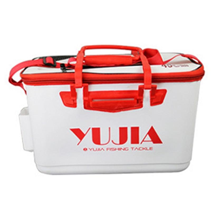 Fishing Tackle Box Eva Fish Bucket Fishing Box Folding Bucket With Handle Multi Function Outdoor Fishing Supplies|Fishing Tools| |  - title=