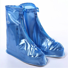 CKAHSBI Waterproof Boots Cover Heels Reusable Boots Cover Man Female Platform Heels High Thick Non-slip Top Platform Shoe Cover стоимость