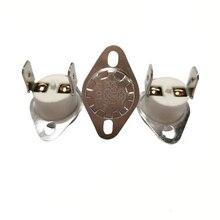5PCS/Lot KSD303 Temperature Switch Thermostat Sensor Ceramic 30A/250V Normally Close/CLosed 40-150 degree