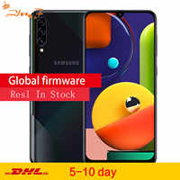 "Samsung Galaxy A50s (SM-A5070) LTE téléphone portable 6.4 ""6G RAM 128GB ROM Exynos 9611 48.0MP arrière appareil photo téléphone"