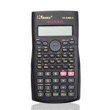 Mais novo handheld multi-função 2 linha de exibição calculadora científica 82m-a portátil multifuncional calculadora para matemática