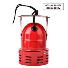 Sirena alarma 40 w 120 db motor elétrico conduzido alarme fábrica veículo mini prevenção de incêndio chifre sirene