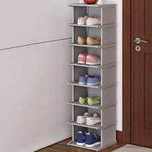 Pé sapato rack sapatos à prova de poeira gabinete montar sapato organizador prateleira de canto superior-qualidade armário incrível armário de sapato