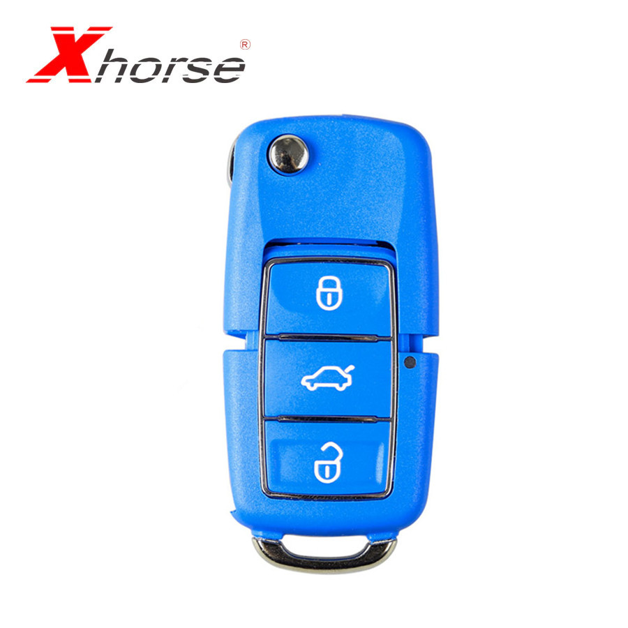 XHORSE VVDI2 For  Volkswagen B5 Special Remote Key 3 Buttons In Blue Color