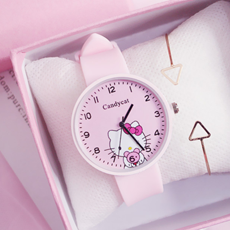 Cartoon Women Watches 2020 Top Sales Girls Ladies Watch Silicone Quartz Wristwatch Children Clock Free Shipping Relogio Feminino