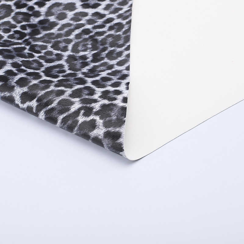 Pvc Synthetisch Leer Luipaard Print Kunstleer Diy Bag Bank Kledingstukken Naaien Decor Leer Stof Handwerk Faux Leer Stof