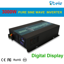 3000W Car Power Inverter 24V 220V Pure Sine Wave Inverter Solar System DC to AC Converter Transformers 12V/48V to 120V/230V/240V solar power inverter 600w peak 12v dc to 230v ac modified sine wave converter