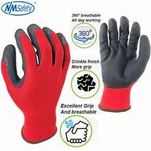 Rękawice robocze NMSafety 12 par dla mężczyźni lub kobiety rękawice chronne lateksowe
