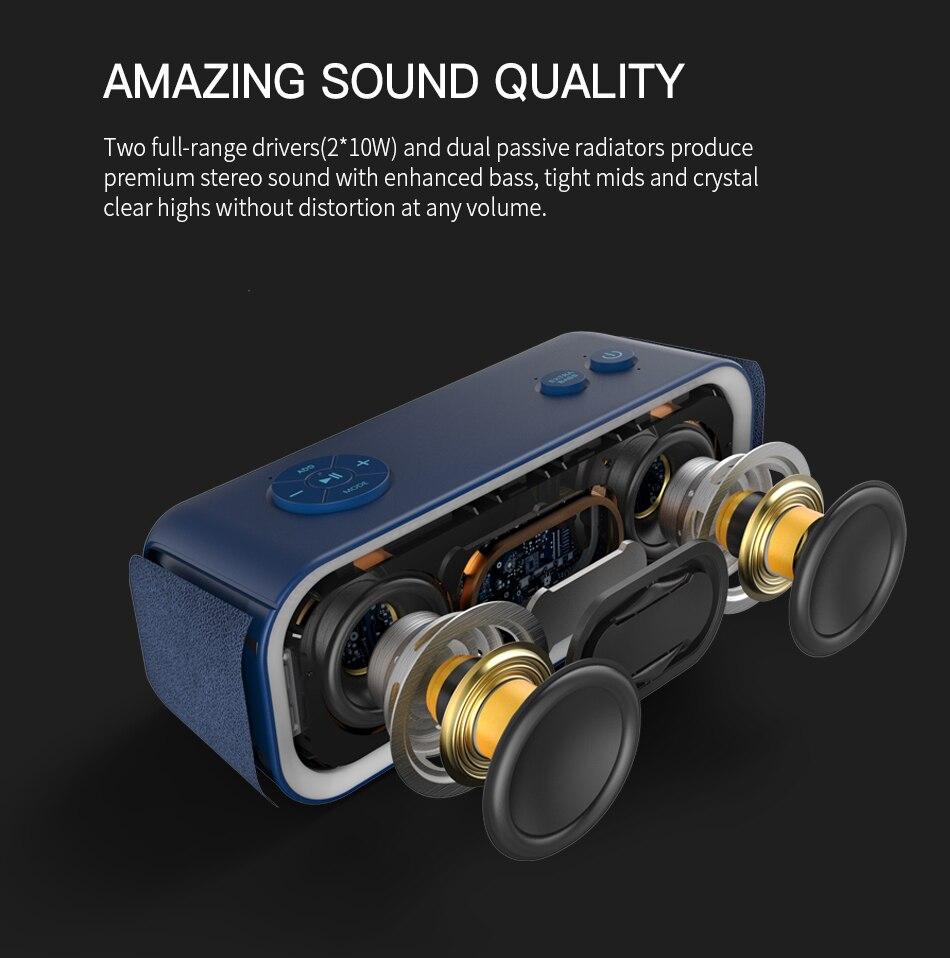 Doss DS BT10 Pro Wireless Bluetooth Stereo Speaker 6
