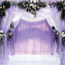 Tutu-Skirt Wedding-Decoration-Supplies Tulle-Fabric Organza Craft Element Crystal DIY