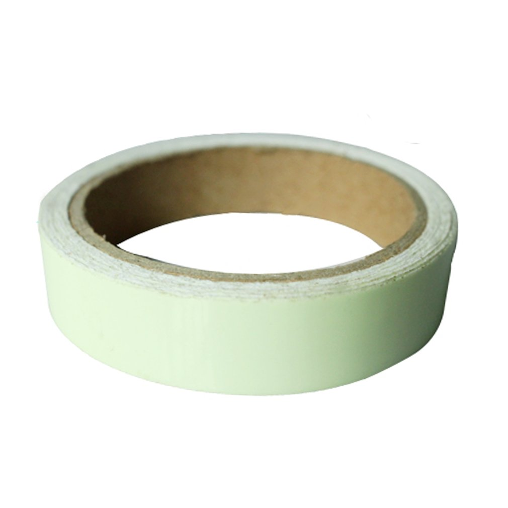 Reflective Glow Tape Self-adhesive Sticker Removable Luminous Tape Fluorescent Glowing Dark Striking Warning Tape Dropshipping