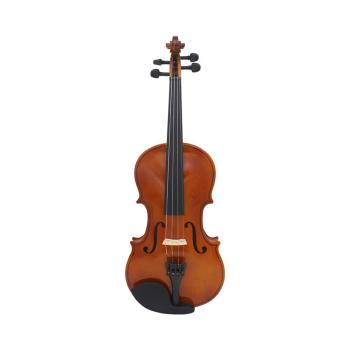 IRIN 81.0*26.0*12.0cm Violin Natural Acoustic Solid Wood Spruce Flame Maple Veneer Violin Fiddle with Cloth Case Rosin Sets