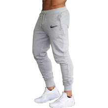 Pants Casual Sweatpants Solid Fashion High Street Trousers