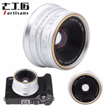 7artisans 25mm F1.8 objectif de mise au point manuelle pour Sony E A5000 A5100 A6300 A6500 pour Canon EOS M pour Fuji FX pour Olympus M4/3 Mount