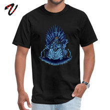 The Ice Game King Family Top T-shirts Game of Throne 100% Cotton Summer/Fall Tops & Tees Short Sleeve 2019 Newest Crewneck the newest 100