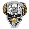 Специальное кольцо в виде черепа, стальное кольцо в виде солдата, дизайнерское кольцо в виде Джокера, цементированное твердосплавное смешн...