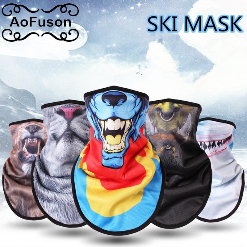 Winter Fleece Ski Scarf . Cycling Snowboard Bandana Headwear Face Cover Triangle Thicken Warm Windproof Bibs Face Mask Scarf