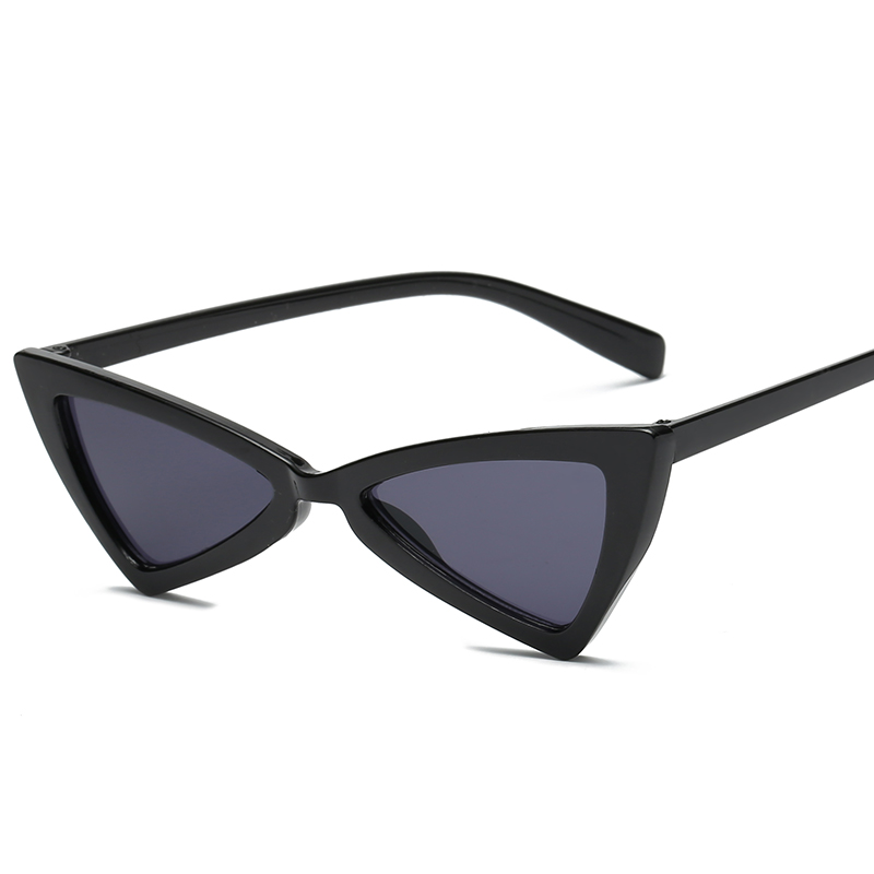 Cat's Eye Sunglasses Sexy Triangle Leopard Frame Various Colors Optional Plastic Glasses Women Sunglass For Sunglases