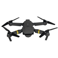 E58 WiFi FPV dengan Sudut Lebar 1080P HD Kamera Tinggi Tahan Mode Lipat Arm RC Quadcopter RTF Drone Helikopter quadcopter(China)