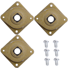 3pcs 42 Stepper Motor Vibration Damper Metal Steel 42 Stepper Motor Shock Absorber For CR-10 CR-10S 3D Printer Parts