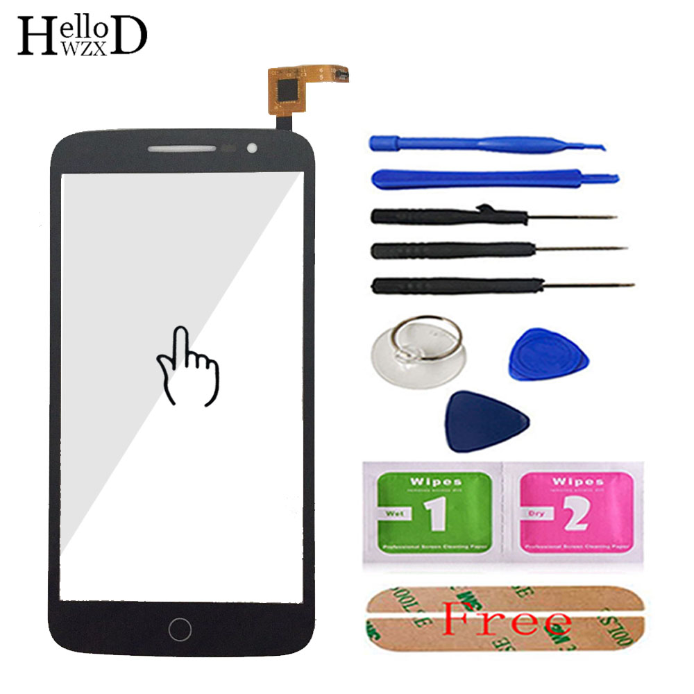 Mobile Touch Screen For Alcatel One Touch Pop 2 OT7044 7044 7044Y 7044A 7044X 7044K Touch Screen Digitizer Panel Sensor Tools