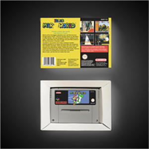 Image 2 - Super Marioed World   EUR Version RPG Game Card Battery Save With Retail Box