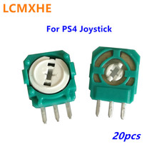 20 Pc 3D Joystick Analogico Modulo Sensore Potenziometro Asse Resistenze per Playstation4 PS4 Controller Micro Interruttore di Ricambio